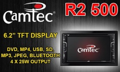 CAMTEC IN DASH DOUBLE DIN